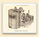 By the 1920s, Canadian beekeepers were using large honey extractors driven by gas engines; this one was advertised in a  Ruddy catalogue.