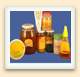 Honey comes packed for retail sale in a range of containers, from squeeze tubes to large jars.