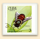 Worker bee on a Cuban postage stamp.