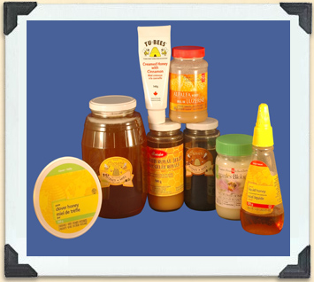 Honey is available in many flavours, and packaged in ways that make it easier to use.